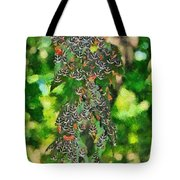 At The Valley Of Butterflies In Rhodes Island Tote Bag by George Atsametakis