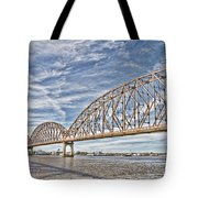 Atchafalaya River Bridge Tote Bag