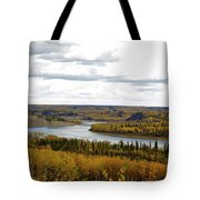 Athabasca Fall Tote Bag