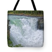 Athabasca Falls Study V Close-up Tote Bag