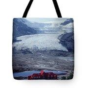 1m3734-athabasca Glacier W Original Icefields Chalet Tote Bag