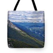 Athabasca River Valley - Jasper Tote Bag