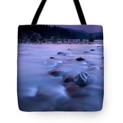 Athabasca Sunset Tote Bag