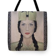 Athena Tote Bag by Lynet McDonald