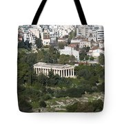 Athens Cityscape  Tote Bag