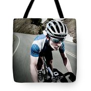 Athletic Male High Speed Cycling Tote Bag
