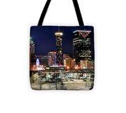 Atlanta Panoramic View Tote Bag