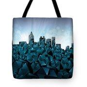 Atlanta Skyline Geometry 3 Tote Bag