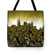 Atlanta Skyline Geometry Tote Bag