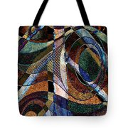 Atlanta Solis Abstract Art Tote Bag