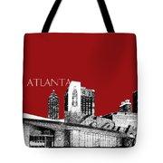 Atlanta World Of Coke Museum - Dark Red Tote Bag