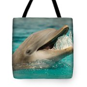 Atlantic Bottlenose Dolphin Tote Bag