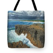 Atlantic Breakers Pontal Portugal Tote Bag