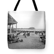 Atlantic City Beach, C1900 Tote Bag