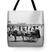 Atlantic City Beach, C1901 Tote Bag