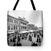 Atlantic City Boardwalk Tote Bag