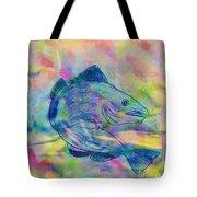 Atlantic Codfish Digital Color Tote Bag