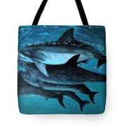 Atlantic Dolphins Tote Bag