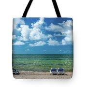 Atlantic Ocean At Smathers Beach In Key Tote Bag