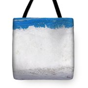 Atlantic Ocean Wave Tote Bag