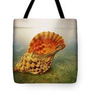 Atlantic Trumpet Triton Shell Tote Bag