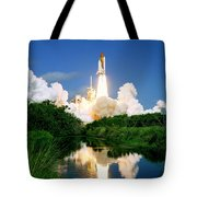 Atlantis Reflection Tote Bag