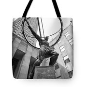 Atlas Of New York City Tote Bag