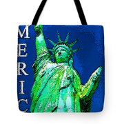 The Light Of Freedom Tote Bag