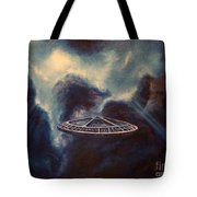 Atmospheric Arrival Tote Bag