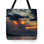 Atomic Sunset Tote Bag