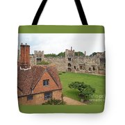 Atop The Castle Wall Tote Bag