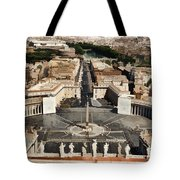 Atop The Domo - Vatican Tote Bag by Jon Berghoff