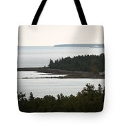 Atop The Lighthouse Tote Bag