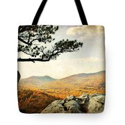 Atop The Rock Tote Bag