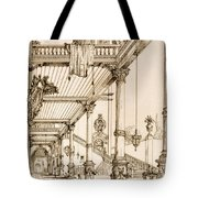 Atrium Of A Palace, In Genes, From Art Tote Bag