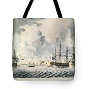 Attack On Fort Mifflin, 1777 Tote Bag
