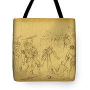 Attack On The Rear Guard. Amelia Ct. Ho. Tote Bag