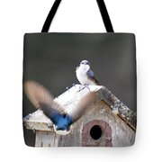 Attacked Tote Bag