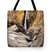 Attagar Falls In Western Ghats Tote Bag