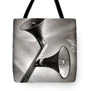 Attention Attention  Tote Bag