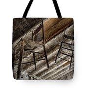 Attic Seating Tote Bag