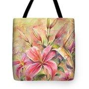 Attractive Fragrance Tote Bag