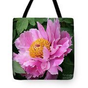 Attractive Pink Peony Tote Bag