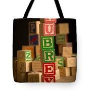 Aubrey - Alphabet Blocks Tote Bag