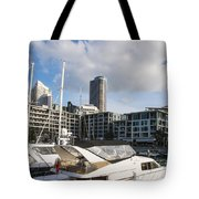 Auckland City View Tote Bag