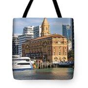 Auckland Ferry Terminal Tote Bag