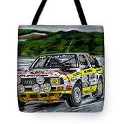 Audi Quattro Tote Bag