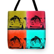 Audi Silver Arrow Pop Art 2 Tote Bag