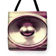 Audio Banner Tote Bag