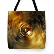Audio Gold Tote Bag